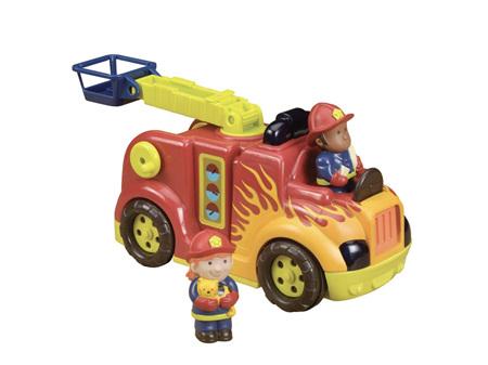 B. Toys Fire Flyer Rrroll Lights & Sound Fre Truck