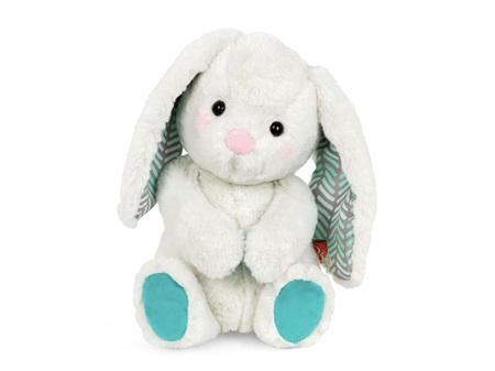 B. Toys Happy Hues Plush Peppy-Mint Bunny Soft & Cuddly
