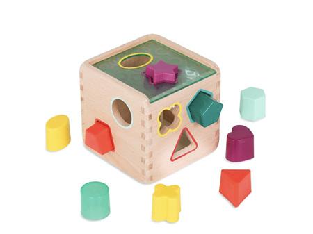 B. Toys Wonder Cube Wooden Shape Sorter