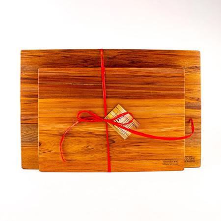 B-Grade Large Chopping Board with Medium Chopping Board Set
