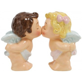 Baby Angels Mwah Salt & Pepper Shakers
