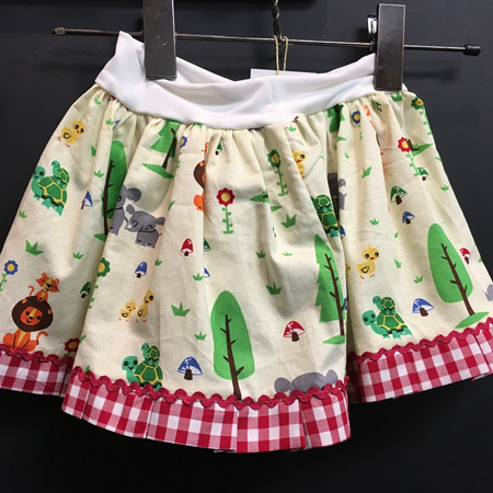 Baby Animal Skirt Size 2