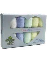 Baby Bamboo Wash Cloths. Multi