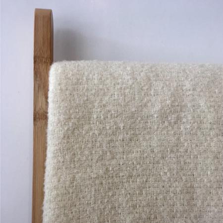 Baby Blanket - Organic Merino + Mohair (Cream)