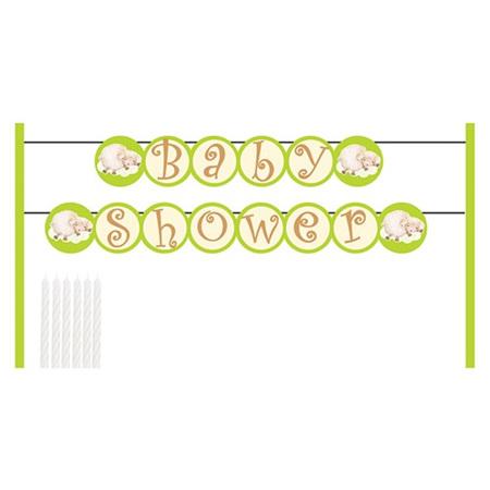 Baby cake banner kit