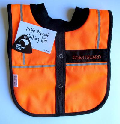 Baby Coastguard Bib