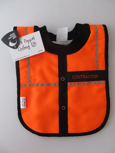 Baby Contractor Bib