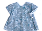 Baby Dress - Blue Floral