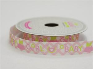 Baby girl ribbon
