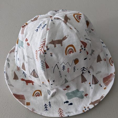 Baby Hat Fox Forest 6-18 Months