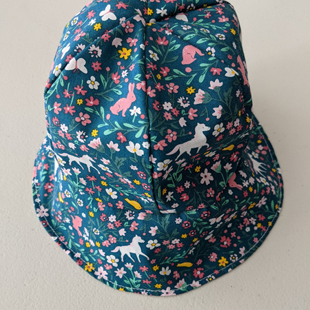 Baby Hat Horse Flowers 6-18 Months