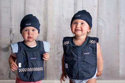 Baby Police Beanie