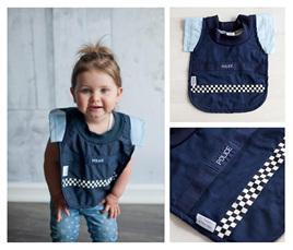 Baby Police Bib