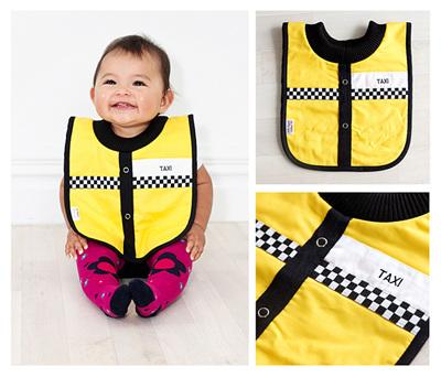 Baby Taxi Bib