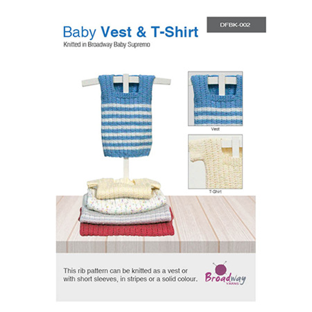Baby Vest & T-Shirt by Broadway Yarns