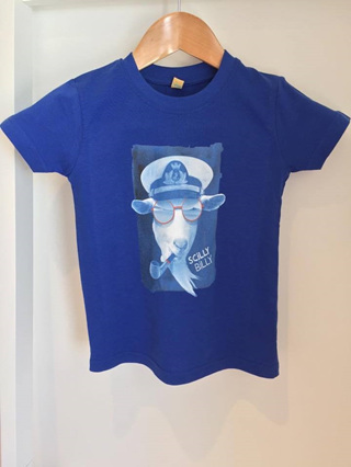 Baby/Toddler Billy Tee - Blue