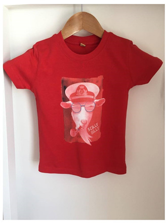Baby/Toddler Billy Tee - Red