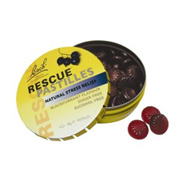 Bach Original Rescue Pastilles - Blackcurrant flavour