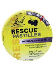 BACH Rescue Pastilles B/Currant 50g