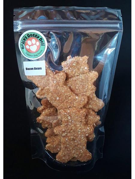 Bacon Bear Cookies - Dog Treats