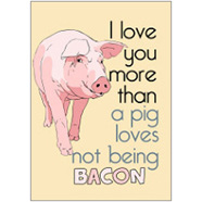 Bacon Pig Fridge Magnet