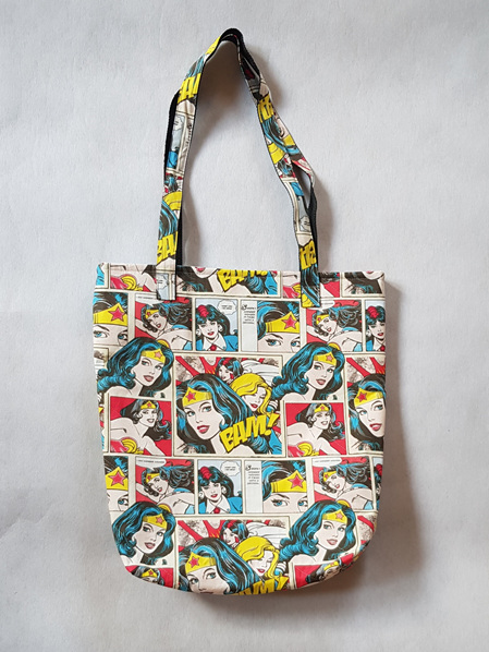 Bag Quilted Wonder Woman