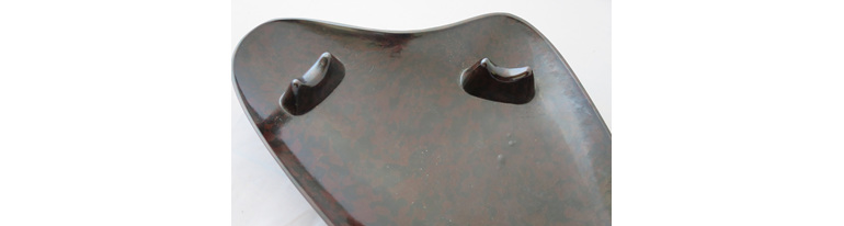 Bakelite pipe stand and ashtray