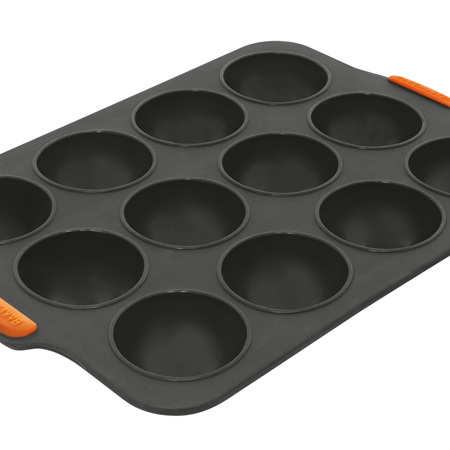Bakemaster Silicone 12 Cup Dome Tray