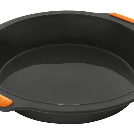 Bakemaster Silicone Round Pan 24x5cm