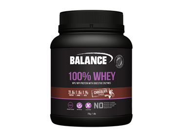 BAL 100% Whey Natural Choc 750g