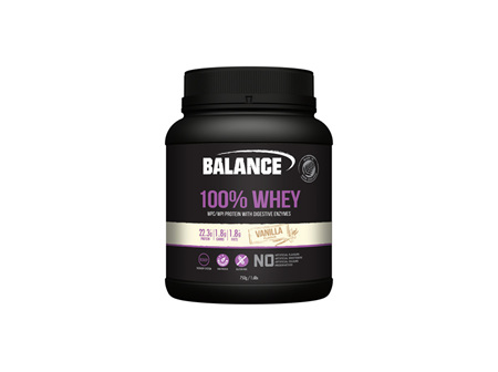 BAL 100% Whey Natural Van. 750g :