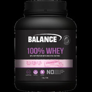 Balance Sports Nutrition 100% Whey - 750g Vanilla (ask about other flavours)
