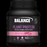 Balance Sports Nutrition  Plant Protein - Berry 500g (ask about other flavours)