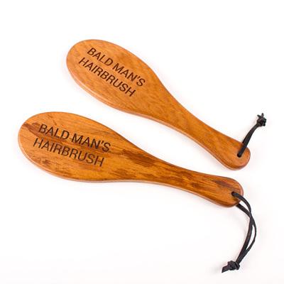Bald Mans Hairbrush