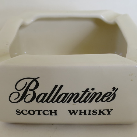 Ballantines ashtray