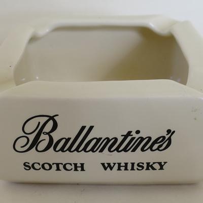 Ballantines ashtray