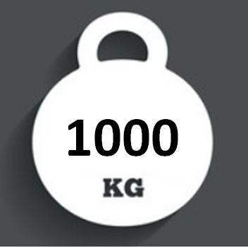 Ballast Weight 1000kg