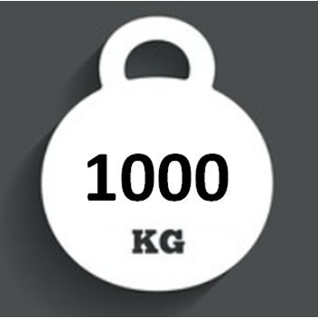 Ballast Weight 1000kg INTERBLOC