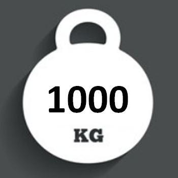 Ballast Weight 1000kg INTERBLOC