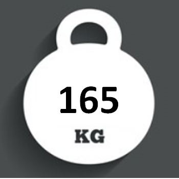 Ballast Weight 165kg