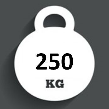 Ballast Weight 250kg