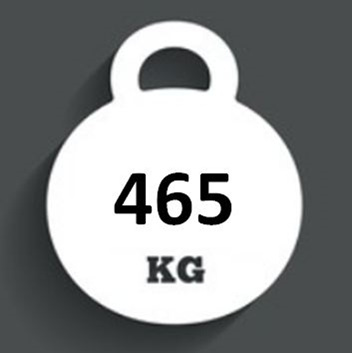 Ballast Weight 465kg
