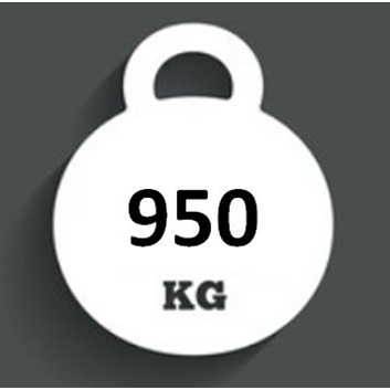 Ballast Weight 950kg