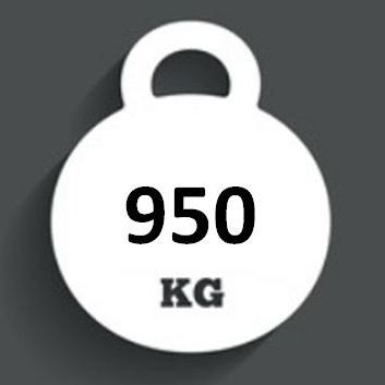 Ballast Weight 950kg