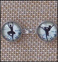 Ballerina Glass Dome Bracelets