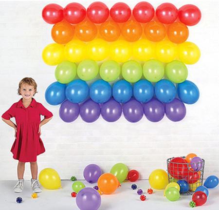 Balloon backdrop kit - 169CM X 127CM HOLDS 39 BALLOONS