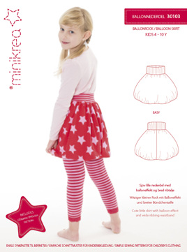 Balloon Skirt size 4 - 10 yrs