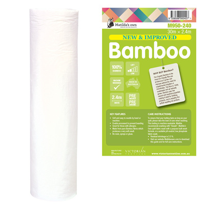 Bamboo Batting 2.4m wide