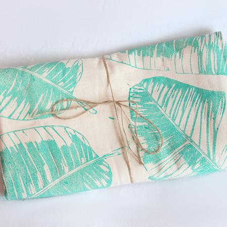Banana Leaf Throw / Tablecloth