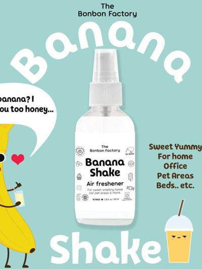 Banana Shake – Air Freshener